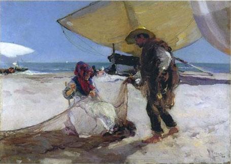 Œuvre du peintre Johachim Sorolla, jusqu'au 6 nov. au musée des Impressionnismes à Giverny