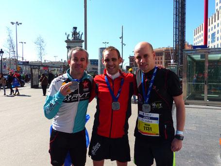 C'est un moment que j'ai aussi eu le plaisir de partager avec Cyrille (3H06) et Fabien (2h56), bien joué la team RVT! Et merci les gars!