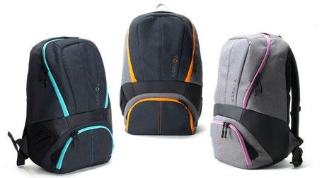 Les trois coloris disponibles du Smartbag 25
