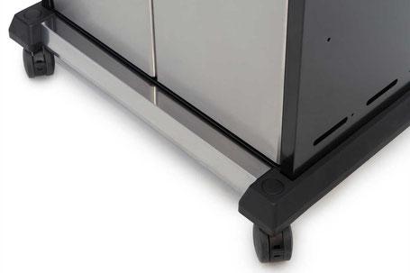 Neuer Unterwagen - mehr Stabilität und verstärkte Bodenplatte