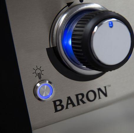 Drehregler-Beleuchtung jetzt auch für die Baron-Serie