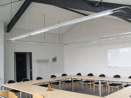 Beleuchtungsanlage eines Schulungsraum