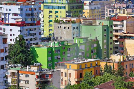 Voyage Albanie : Tirana la colorée