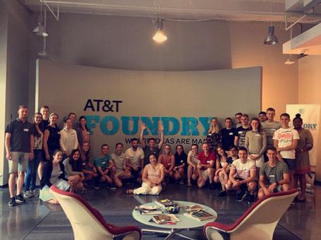 Design-thinking workshop bei AT&T (weitere Bilder s. Fotoalbum)