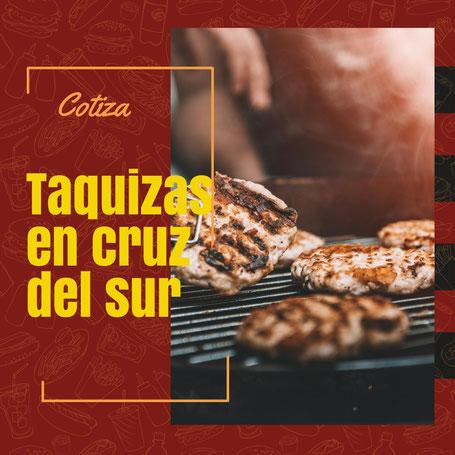 Taquizas y banquetes en Cruz del Sur. Guadalajara