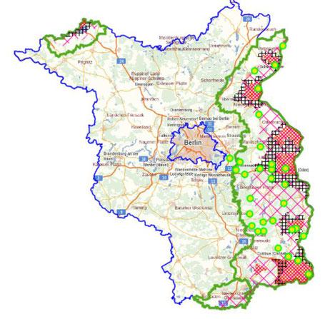 Wildsammelstellen und Zonen der ASP 2021-09-14