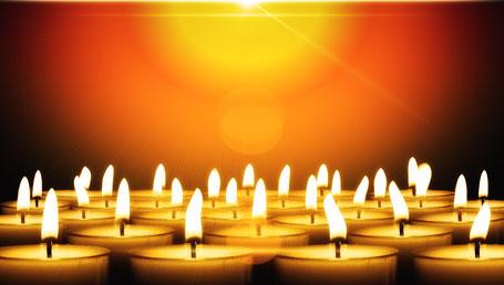 Kerzen aus Asienmachen 95% aus.