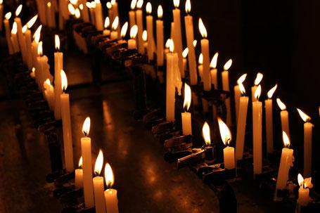 Bewußter und sinnvoller Umgang mit Kerzen.