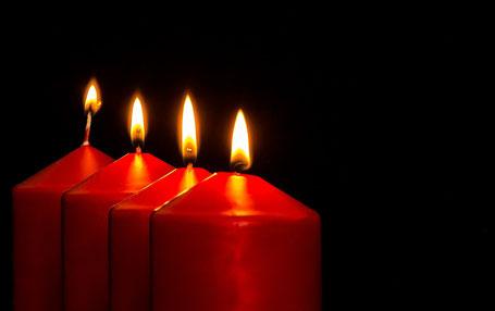 Kerzen sind nicht immer unbedenklich.