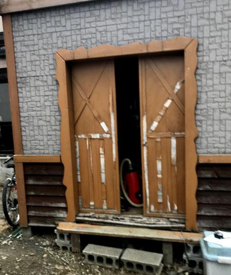 物置修理札幌手稲