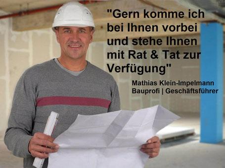 Gern komme ich bei Ihnen vorbei - Mathias Klein-Impelmann - Geschäftsführer
