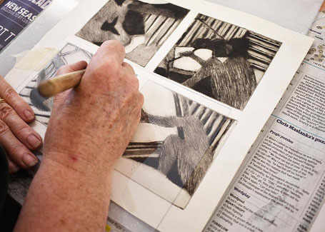 Tracing an existing image on a workshop