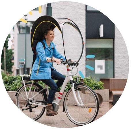 Bup-up, protection contre la pluie pour vélo d'occasion