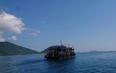 Rainbow Divers Boat Vietnam