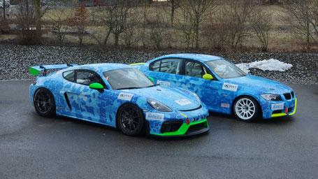 ADAC TOTAL 24h-Rennen 2020. Fahrzeuge des EPS Teams, die dieses Jahr leider nicht an den Start gehen konnten beim 24h Rennen.