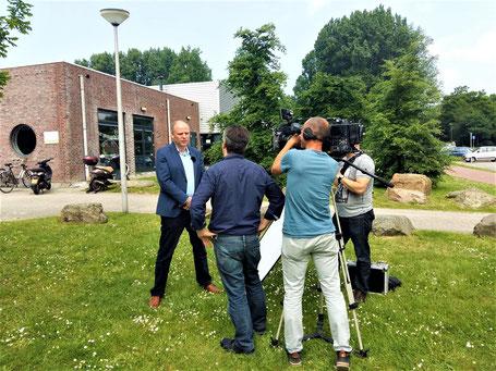 Opnames en Productie & opnames voor Wonen in Rijnmond op TV Rijnmond