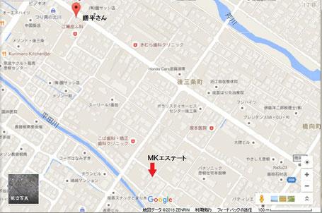膳平さん 地図