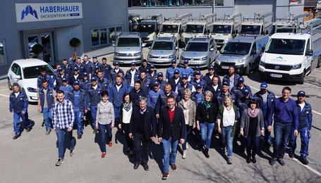 Teamfoto Haberhauer Dachzentrum
