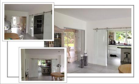 referenzen die glasschiebet glasschiebet ren. Black Bedroom Furniture Sets. Home Design Ideas