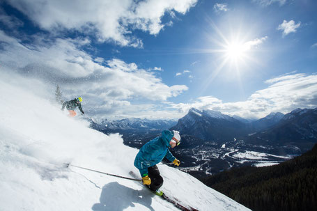 Mount Norquay Ski Resort, Banff National Park, Canadian Rockies