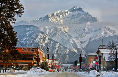 Banff Avenue, Alberta