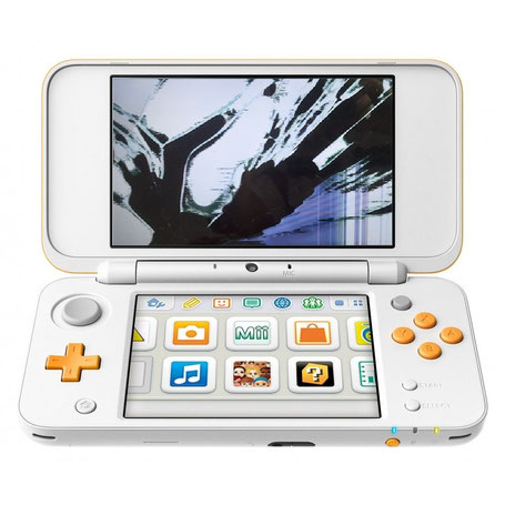 New Nintendo 2DS XL Display defekt