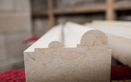 Ein Beispiel eines Profils aus Sandstein