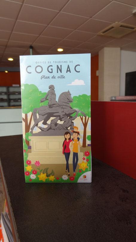 Plans de ville l 39 actu des pros du tourisme cognac for Plan de cognac
