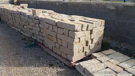Bordillo de piedra natural - piedra para suelo y fachada