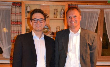 Bernhard Lederer und Klaus Zimmermann