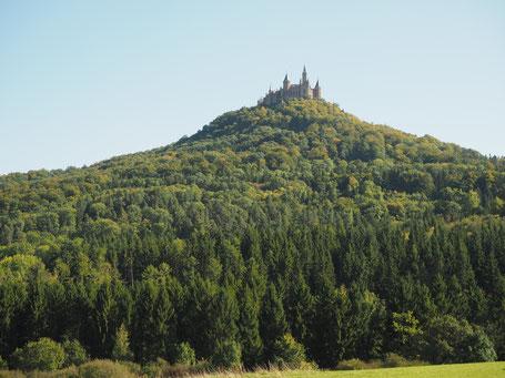 Burg Hohenzollern vom Brielhof aus