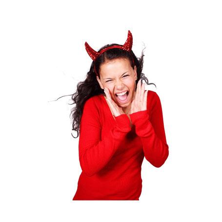 wat zegt de duivel in jou dat je tegenhoud jouw leven te leven?