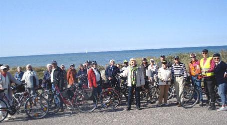 Gruppenfoto Ostsee-Fahrradtour