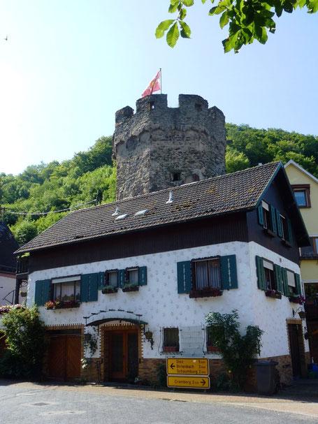 Balduinstein Portturm Port