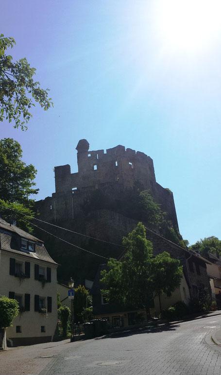 Balduinstein Burg Burgruine Balduin