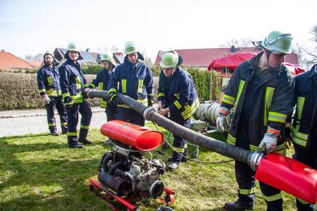 Feuerwehr Boblas Übung Ausbildung