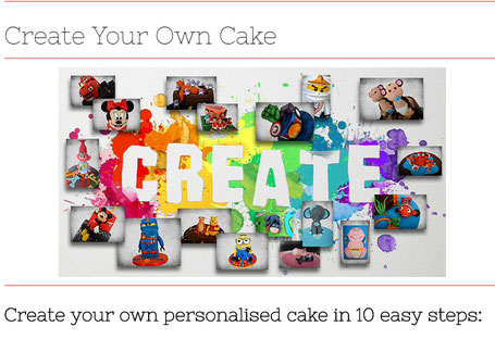 Create your cake
