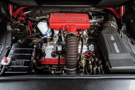 Moteur V8 Quattrovalvole