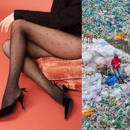 Bild links von Swedish Stockings, Bild rechts von Ed Burtynsky