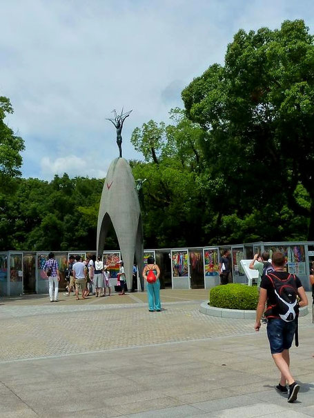 Mahnmal in Hiroshima