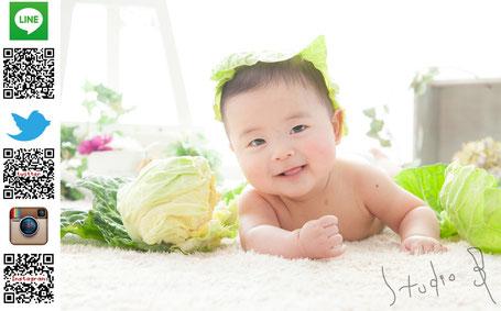 七五三 百日記念 お宮参り 赤ちゃん 家族写真 マタニティー 成人式 記念写真 名古屋市西区 スタジオB