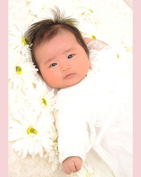 百日 お宮参り ベビー 赤ちゃん 写真