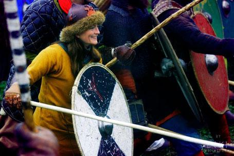 Der Berggeist Schildmaid Wikinger Vikings Kriegerin