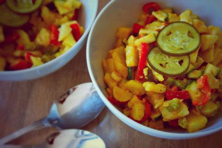 Kartoffelsalat SAUER MACHT GLÜCKLICH | handmade fermented foods - Vegan. Rohkost. Glutenfrei. Natürlich. Gesund. Lecker.