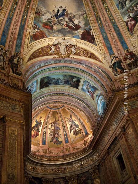 Interior de la Basílica de San Francisco el Grande