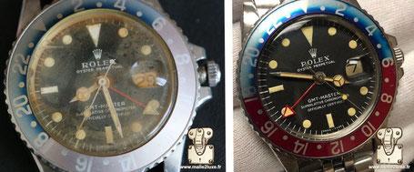 Rolex 1675 GMT vers 1972