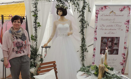 Schon gewußt? In Haldensleben gibt es einen Brautmode Laden!