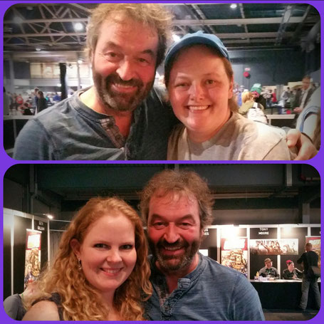 Ian Beattie (Meryn Trant, GOT) at Dutch Comic Con