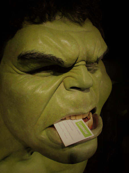 Hulk at Madame Tussauds Amsterdam