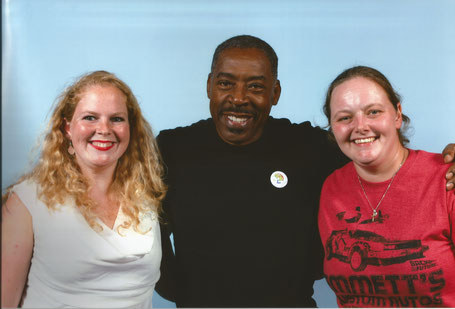 A photo op with Ernie Hudson at FACTS convention